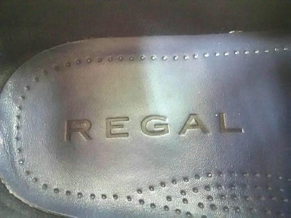 REGAL(リーガル) スニーカー 24 1/2 メンズ ネイビー レザー