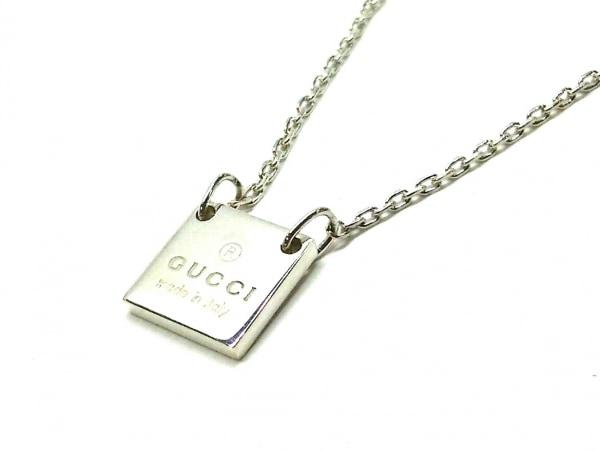GUCCI(グッチ) ネックレス美品  - シルバー
