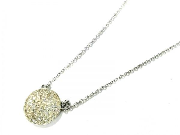 AGATHA(アガタ) ネックレス美品  シルバー クリア ラインストーン