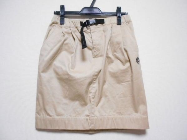 PEARLY GATES(パーリーゲイツ) スカート サイズ0 XS レディース美品  ベージュ
