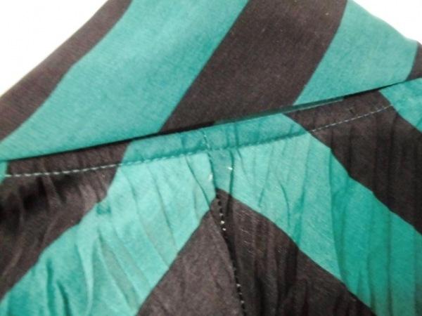 NOKO OHNO(ノコオーノ) ジャケット サイズ38 M レディース美品  グリーン×黒