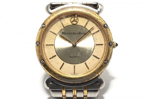 Mercedes-Benz(メルセデスベンツ) 腕時計 - レディース シルバー×ゴールド