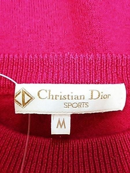 クリスチャンディオールスポーツ 長袖セーター レディース美品  ピンク