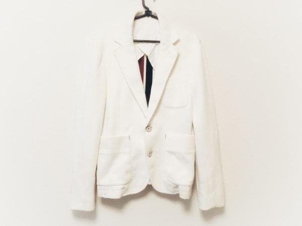 d/him(ディーヒム) ジャケット サイズ48 XL メンズ 白