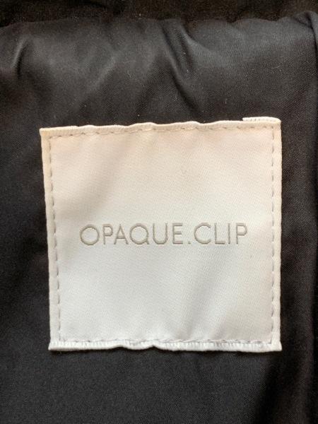OPAQUE(オペーク) ダウンコート サイズ38 M レディース 黒