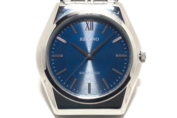 REGUNO(レグノ) 腕時計 E031-T017215 メンズ ネイビー
