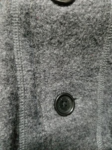 ブラックバレットバイニールバレット ジャケット サイズ1 S メンズ美品  グレー
