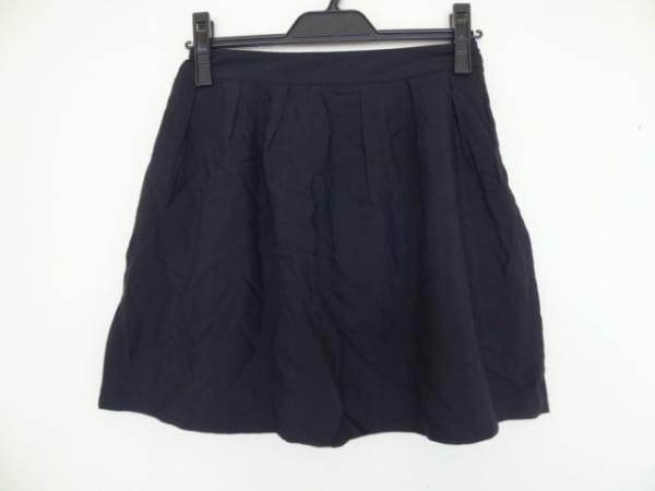 MAISON KITSUNE(メゾンキツネ) スカート サイズ36 S レディース美品  黒