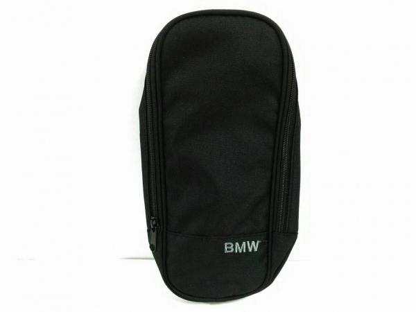 BMW(ビーエムダブリュ) ポーチ美品  黒 ナイロン