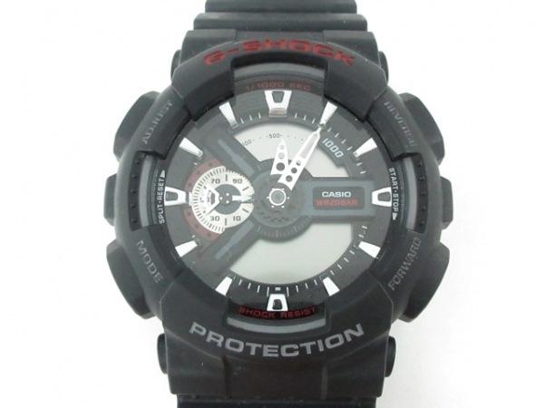 CASIO(カシオ) 腕時計 G-SHOCK GA-110 メンズ 黒×グレー
