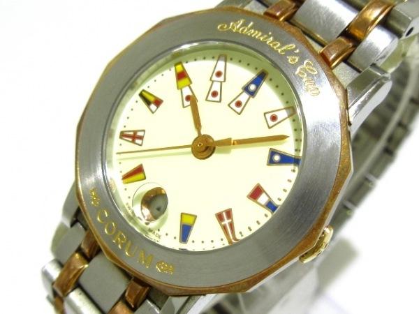 CORUM(コルム) 腕時計 アドミラルズカップ 39.130.24V585 レディース アイボリー