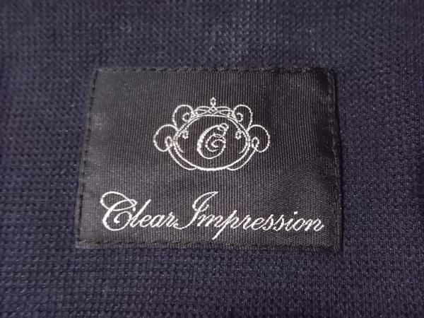 CLEAR IMPRESSION(クリアインプレッション) スカートスーツ レディース ネイビー