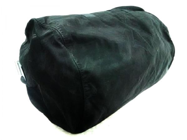 PRADA(プラダ) ボストンバッグ - 黒 ナイロン×レザー