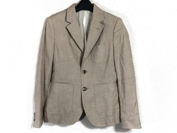 MACPHEE(マカフィ) ジャケット サイズ40 M レディース ベージュ
