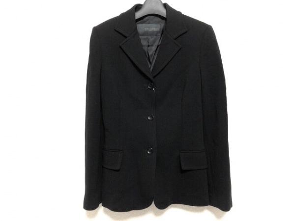 ERMANNO SCERVINO(エルマノシェルビーノ) ジャケット サイズ40 M レディース 黒
