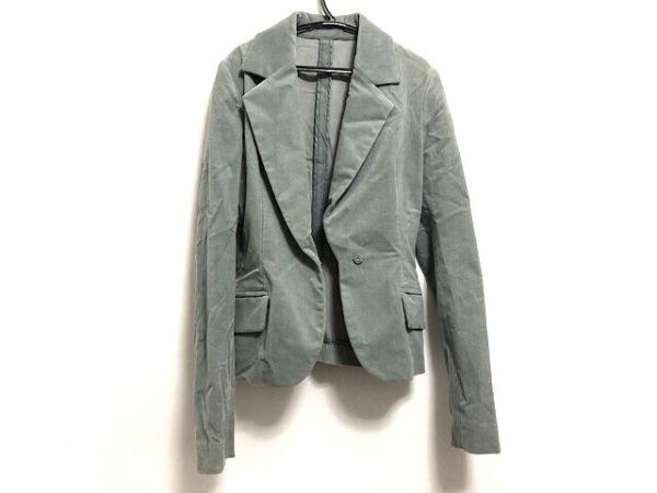 ハンアンスン ジャケット サイズS レディース美品  ライトグリーン 春・秋物
