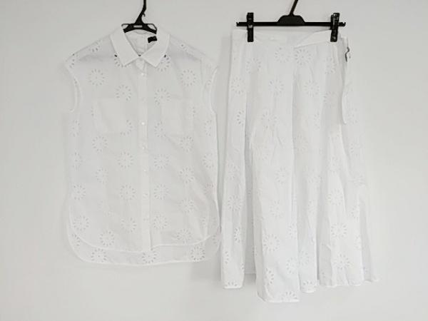 マックスマーラウィークエンド スカートセットアップ サイズ40 M レディース美品  白