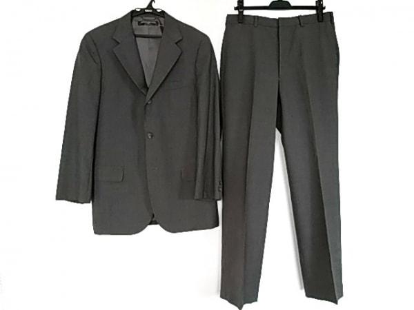 ブルックスブラザーズ シングルスーツ サイズ9 メンズ美品  グレー 肩パッド
