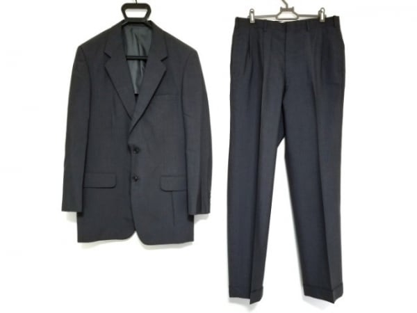 Gres(グレ) シングルスーツ サイズA98 メンズ ダークグレー 肩パッド