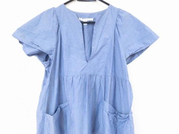 Si-Si-Si(スースースー) ワンピース サイズ38 M レディース美品  ブルー comfort