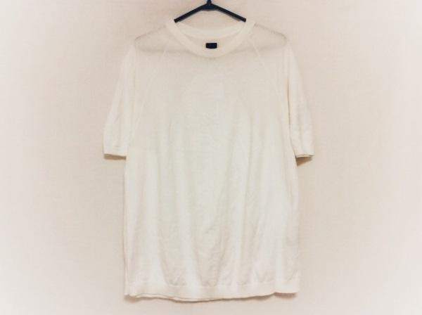 BATONER(バトナー) 半袖セーター サイズ2 M メンズ アイボリー