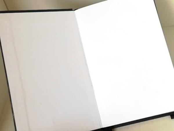 FURLA(フルラ) 手帳 黒×シルバー メモ帳 化学繊維 3