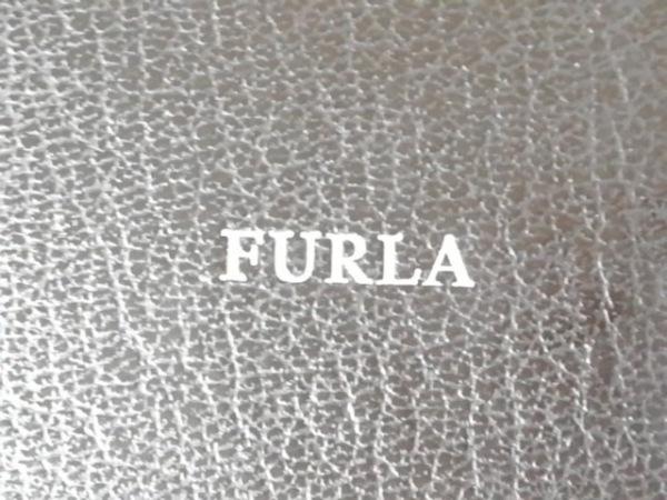FURLA(フルラ) 手帳 黒×シルバー メモ帳 化学繊維 4