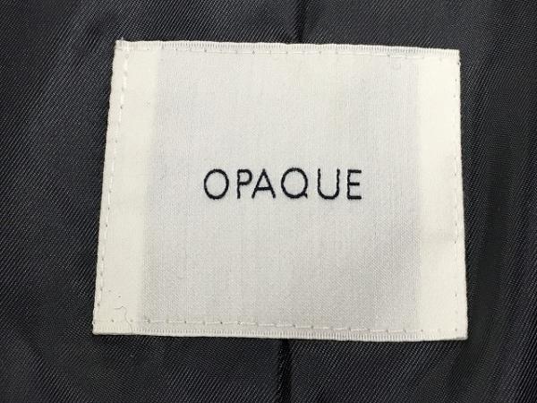 OPAQUE(オペーク) コート サイズ38 M レディース新品同様  アイボリー×グレー