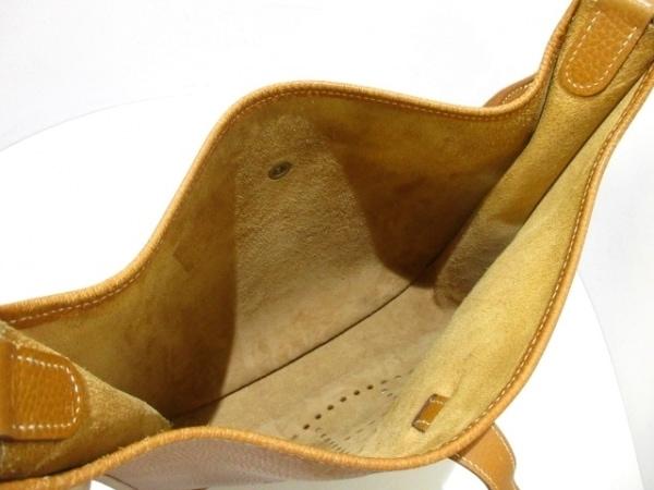 HERMES(エルメス) ショルダーバッグ エブリンGM ゴールド ゴールド金具 アルデンヌ