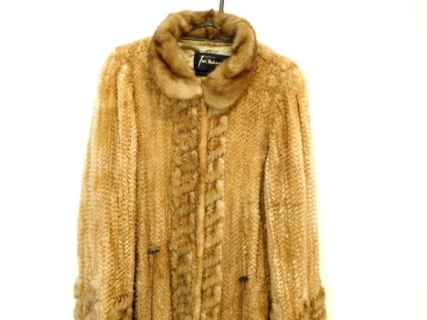 nakamura fur(ナカムラファー) コート レディース ブラウン 冬物