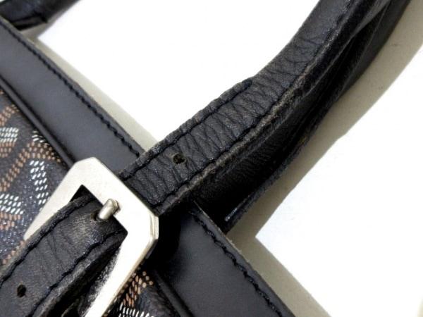 GOYARD(ゴヤール) ビジネスバッグ アンバサダー 黒×白×ブラウン