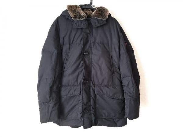 PEUTEREY(ピューテリー) ダウンジャケット サイズL メンズ 黒 冬物