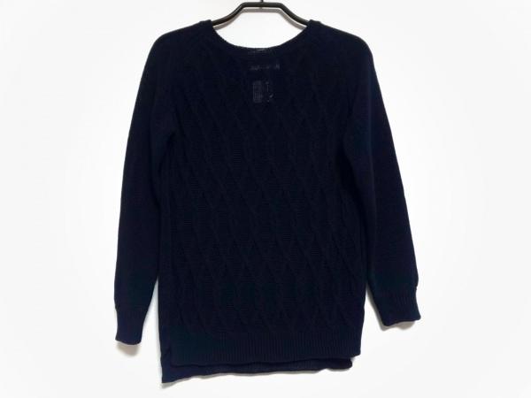 BEIGE(ベイジ) 長袖セーター サイズS レディース ダークネイビー