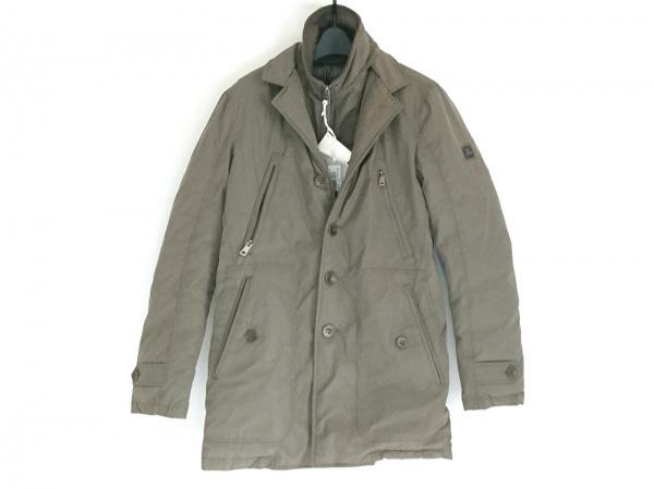 HETREGO(エトレゴ) ダウンジャケット サイズ44 L メンズ美品  ダークブラウン 冬物