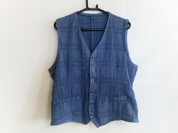 lardini(ラルディーニ) ベスト サイズ46 XL メンズ美品  ブルー