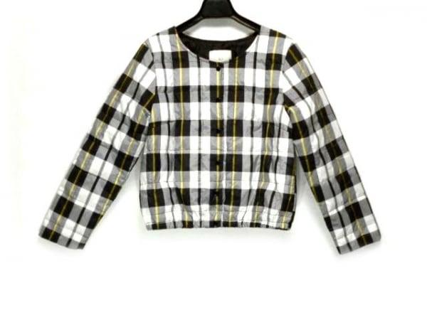 SLY(スライ) ダウンジャケット サイズ1 S レディース 黒×白×イエロー