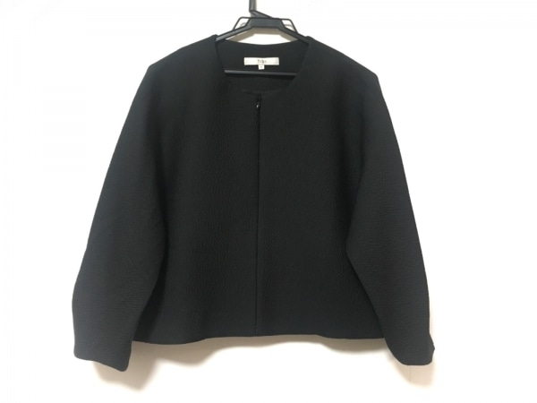 tibi(ティビ) 七分袖カットソー サイズS レディース 黒