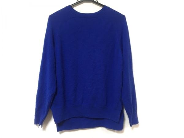 ENFOLD(エンフォルド) 長袖セーター サイズ38 M レディース ブルー