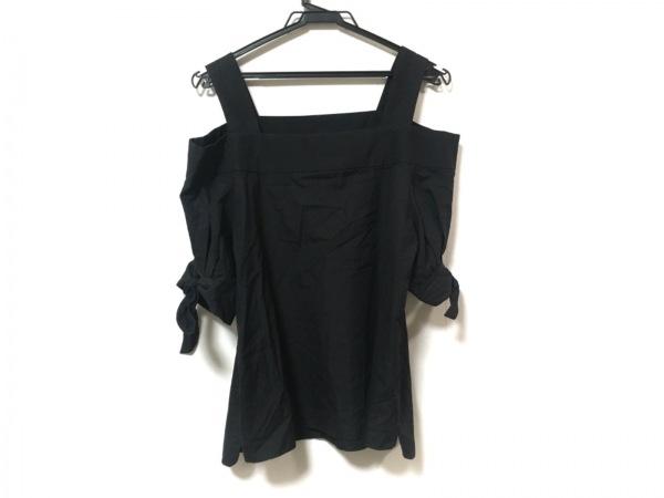 ダブルスタンダードクロージング 半袖カットソー サイズ36 S レディース美品  黒