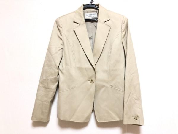 22OCTOBRE(ヴァンドゥ オクトーブル) ジャケット サイズ40 M レディース ベージュ