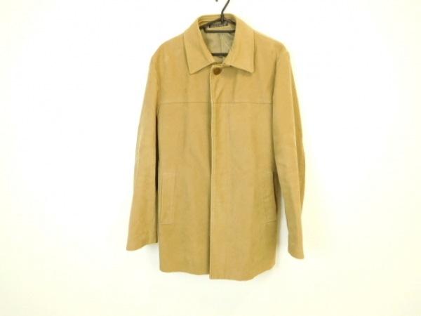 INEDHOMME(イネドオム) コート サイズ2 M メンズ ライトブラウン 冬物
