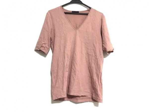 REATS TAILOR ZAZOUS(リーツテイラーザズー) 半袖Tシャツ メンズ ベージュ V字ネック