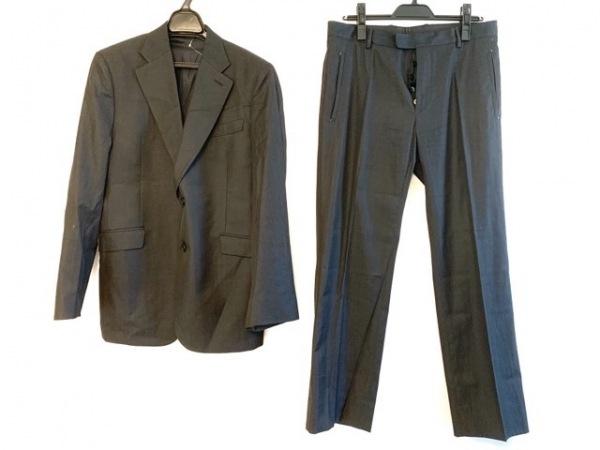 コスチュームナショナルオム シングルスーツ サイズ48 XL メンズ ダークグレー