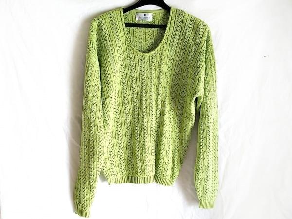Ballantyne(バランタイン) 長袖セーター サイズ5 XL メンズ ライトグリーン