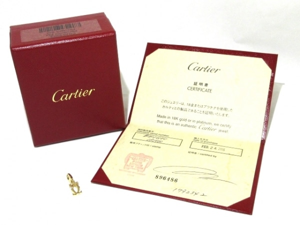 Cartier(カルティエ) ペンダントトップ美品  2C K18YG