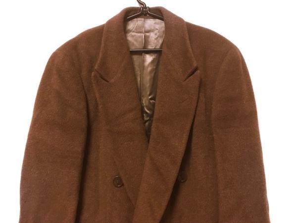 wholesale dealer 7714a a02f7 GIORGIOARMANI(ジョルジオアルマーニ) コート メンズ ブラウン 冬物/ロング丈