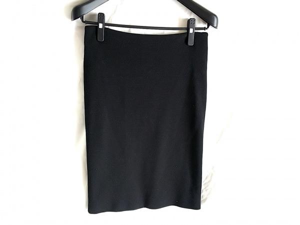Ungaro fuchsia(ウンガロフューシャ) スカート サイズUSA8 M レディース 黒 ニット