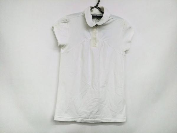 アディダスバイステラマッカートニー 半袖ポロシャツ サイズM レディース新品同様  白