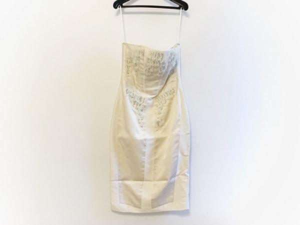 THOMAS WYLDE(トーマスワイルド) ドレス レディース アイボリー ビジュー