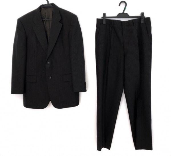 LONNER(ロンナー) シングルスーツ サイズ98AB6 メンズ 黒×ライトブルー